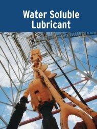 Water Soluble Lubricant - UFA.com