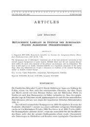 ARTICLES - Institut für Ur