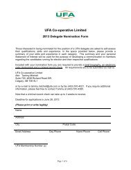 UFA Co-operative Limited - UFA.com
