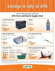 Savings in July at UFA - UFA.com