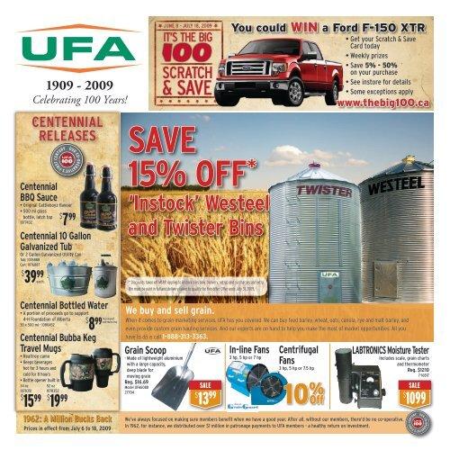 SAVE 15% OFF* - UFA.com