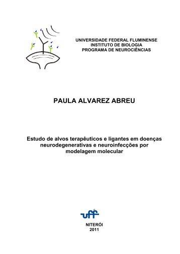 PAULA ALVAREZ ABREU - UFF