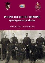 Polizia locale del TrenTino - Provincia autonoma di Trento - Ufficio ...
