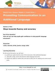 Ways towards fluency and accuracy