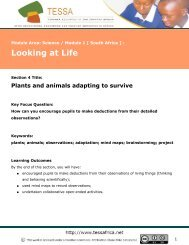 Looking at Life : Plants and animals adapting to survive