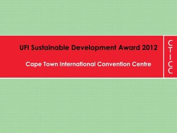 Cape Town International Convention Centre - UFI