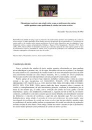 Mecanismos coesivos - Universidade Federal de Juiz de Fora