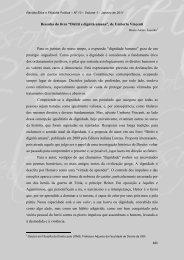 """Resenha do livro """"Diritti e dignità umana"""", de Umberto Vincenti Para ..."""