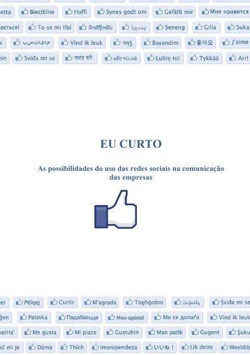 As possibilidades do uso das redes sociais na comunicação ... - UFJF