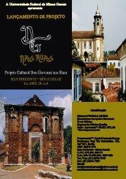 Don Giovanni nas Ruas - UFMG