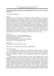 Estudos Colaborativos em Processos de Aprendizagem da ... - UFMG