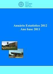 Anuário Estatístico 2012 - UFMT