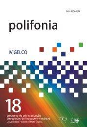 Polifonia nº 18 - 2009 - UFMT