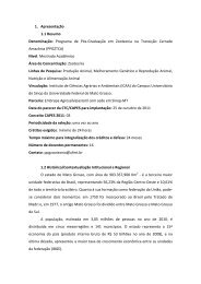 Programa de Pós-Graduação em Zootecnia na Transição ... - UFMT
