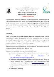 Edital de Abertura - UFMT