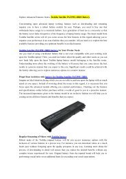 Explore Advanced Features from a Toshiba Satellite PA3399U-2BRS Battery.pdf