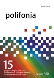Polifonia nº 15 - 2008 - UFMT