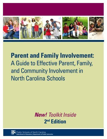 Parent and Family Involvement - Public Schools of North Carolina