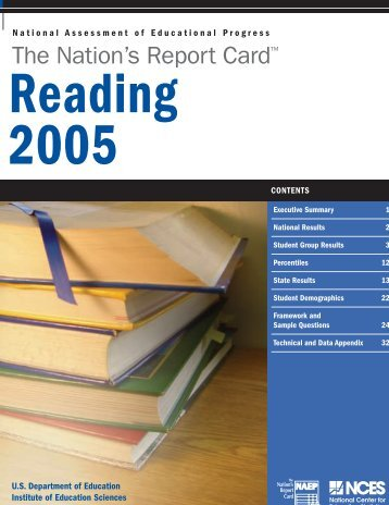 The Nation's Report Card: Reading 2005 - Eric - U.S. Department of ...