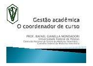 Gestão acadêmica, o coordenador de curso - Universidade Federal ...