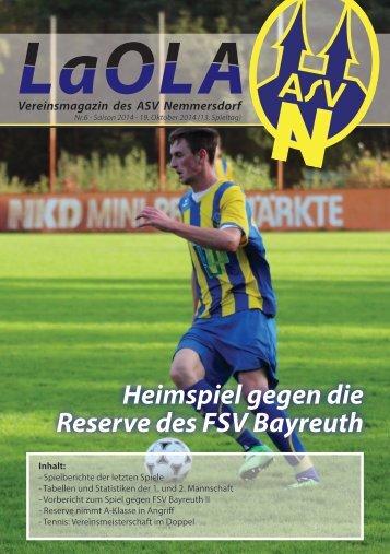 LaOla - Ausgabe 6 - Saison 2014/2015 - 19.10.2014