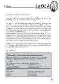 LaOla - Ausgabe 6 - Saison 2014/2015 - 19.10.2014 - Seite 3