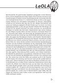 LaOla - Ausgabe 6 - Saison 2014/2015 - 19.10.2014 - Seite 5