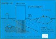 Kompendium i Fundering : Kapitel 7 - Grundvandsproblemer