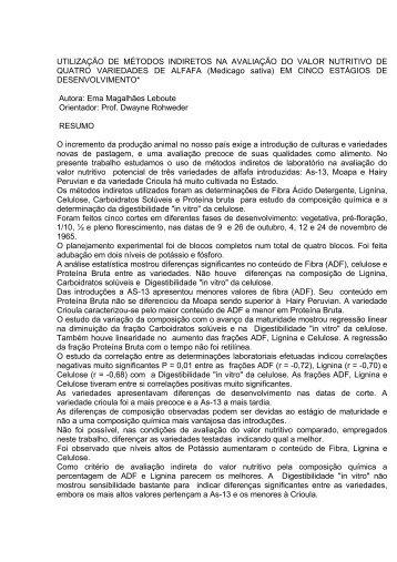 UTILIZAÇÃO DE MÉTODOS INDIRETOS NA AVALIAÇÃO ... - UFRGS
