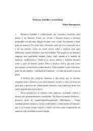 Natureza, trabalho e tecnociência Maíra Baumgarten 1 ... - UFRGS