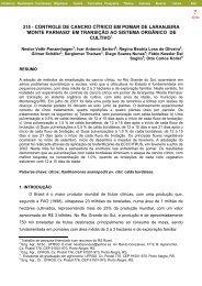 controle de cancro cítrico em pomar de laranjeira 'monte ... - UFRGS