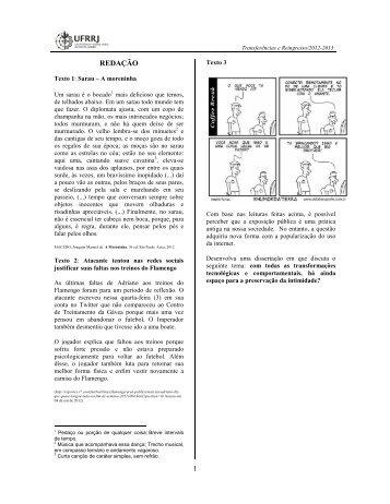 provas - UFRRJ