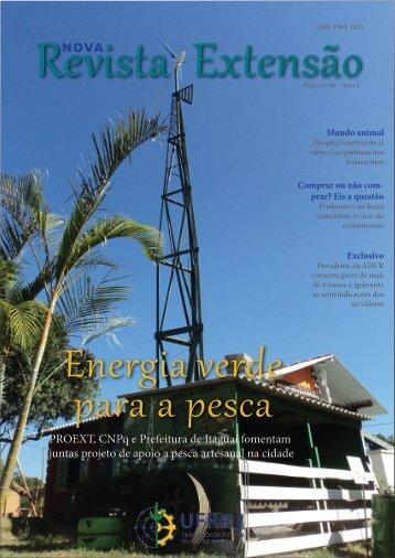 NOVA PROEXT, CNPq e Prefeitura de Itaguaí fomentam ... - UFRRJ