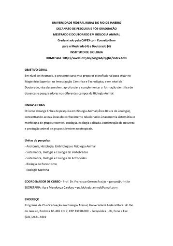 Folder do Curso - UFRRJ