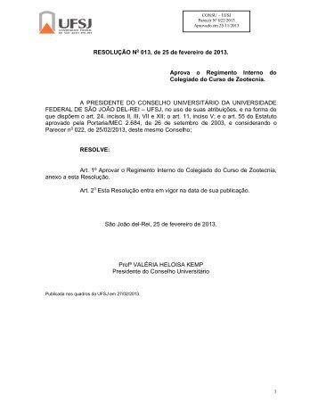 Res. 013, de 25/02/2013 - UFSJ