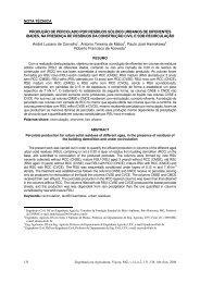 Produção de percolado por resíduos sólidos ... - Monografias.com
