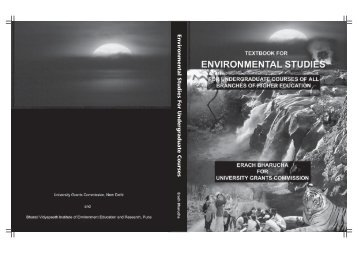 Environmental Studies For Undergraduate Courses - UGC