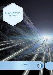 Le magnétisme et l'inox - Ugitech