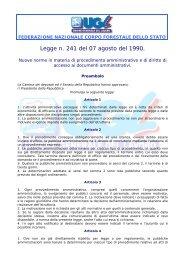 Nuove norme in materia di procedimento amministrativo e