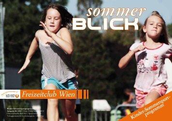Download gesamtes Kinder-Sommersportprogramm der ... - Ugotchi