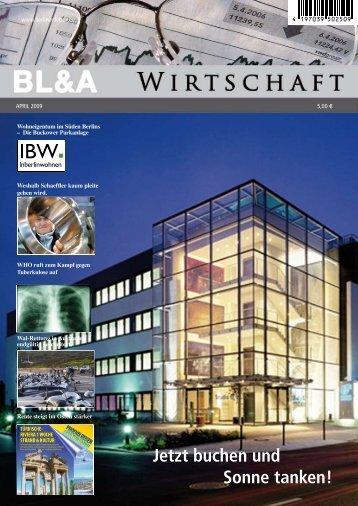 BL&A | Berliner Leben & Arbeit Bundesweit