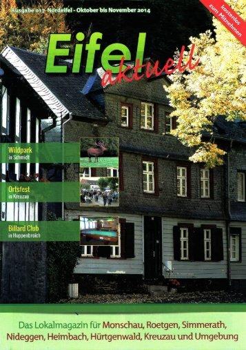 Eifel aktuell Ausgabe 10.2014