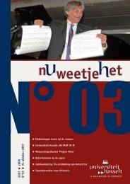 2007 2008 N°03 23 oktober 2007 - UHasselt
