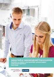 IndustrIÃ«le IngenIeurswetenschappen - UHasselt