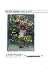 LE SCAPHANDRE ET LE PAPILLON - UHasselt