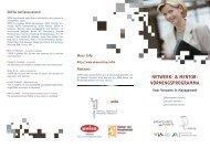 NETWERK- & MENTOR- VORMINGSPROGRAMMA - UHasselt