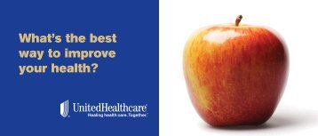 What's the best way to improve your health? - UHC Tools