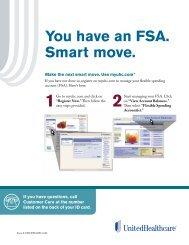 assets/100-9216 FSA Welcome flier.pdf - UHC Tools