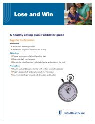 Facilitator Guide - UHC Tools