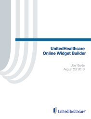 Download User's Guide - UHC Tools